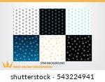 stars background vector... | Shutterstock .eps vector #543224941