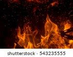fire | Shutterstock . vector #543235555