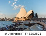 sydney  australia   april 6 ... | Shutterstock . vector #543263821