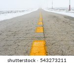 Road In The Snowy Land