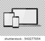 laptop vector illustration... | Shutterstock .eps vector #543277054