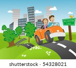 illustration of a couple...   Shutterstock .eps vector #54328021