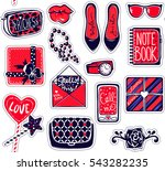 vector kit of contemporary... | Shutterstock .eps vector #543282235