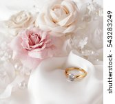 beautiful engagement ring and... | Shutterstock . vector #543283249