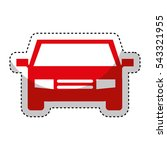 car vehicle isolated icon...   Shutterstock .eps vector #543321955