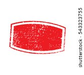 distress stamp red color.... | Shutterstock .eps vector #543323755