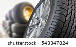 Tires Showing For Sell Or Fix...