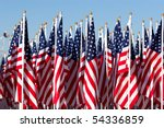 American Flags During 4th Of...