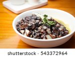 jajangmyeon with sauce  black... | Shutterstock . vector #543372964