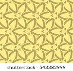 modern geometric seamless... | Shutterstock .eps vector #543382999