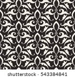 vintage abstract floral... | Shutterstock .eps vector #543384841