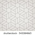seamless linear pattern with... | Shutterstock .eps vector #543384865