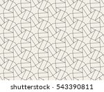 seamless linear pattern with... | Shutterstock .eps vector #543390811