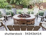 Large Outdoor Fire Pit...