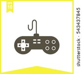 vector game pad icon.