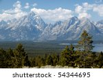 Grand View Of Grand Teton...
