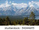 Grand View Of Grand Teton...