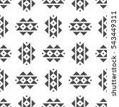abstract vector tribal ethnic... | Shutterstock .eps vector #543449311