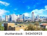 Tel Aviv Skyline In The Day