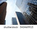 skyscrapers in new york city ... | Shutterstock . vector #543469915