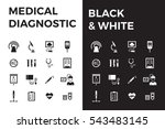 medical diagnostic vector icon... | Shutterstock .eps vector #543483145