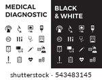 medical diagnostic vector icon... | Shutterstock .eps vector #543483145