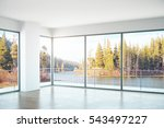 unfurnished concrete interior... | Shutterstock . vector #543497227
