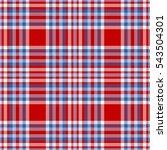 seamless tartan plaid pattern.... | Shutterstock .eps vector #543504301