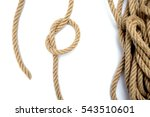 Rope On A White Background Rop...