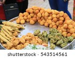 street food india | Shutterstock . vector #543514561