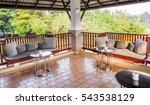 the furniture set at the... | Shutterstock . vector #543538129