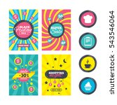 sale website banner templates.... | Shutterstock .eps vector #543546064