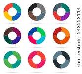 vector circle arrows for...   Shutterstock .eps vector #543553114