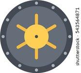 bank vault icon | Shutterstock .eps vector #543564871