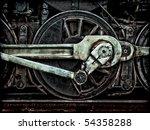 Grunge Old Steam Locomotive...