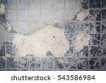 decorative gray stone tiles ... | Shutterstock . vector #543586984