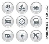 gray web buttons 20 | Shutterstock .eps vector #54358867
