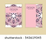 design flyer brochure design.... | Shutterstock .eps vector #543619345
