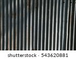 old galvanized sheet with rust | Shutterstock . vector #543620881