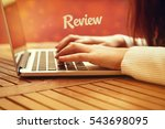 Small photo of Review, Business Concept
