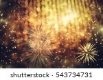 abstract holiday background  ... | Shutterstock . vector #543734731