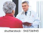 doctor and patient   Shutterstock . vector #543736945