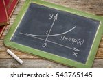 exponential growth curve... | Shutterstock . vector #543765145
