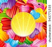 vector valentine's day...   Shutterstock .eps vector #543771535