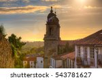 Belltowers of the  Monastery of St. Francis, Santiago de Compostela