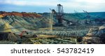 Open Pit. Opencast Manganese...