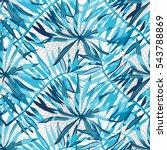 vector abstract watercolor...   Shutterstock .eps vector #543788869