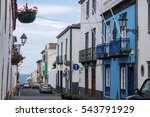 typical urban architecture and... | Shutterstock . vector #543791929