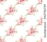 seamless pattern with... | Shutterstock . vector #543796759