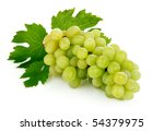 fresh grape fruits with green... | Shutterstock . vector #54379975